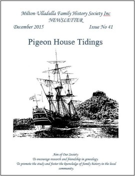 Pigeon House Tidings magazine