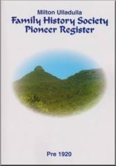 Pioneer Register Book